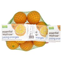 essential Waitrose juicing oranges 1kg  from Waitrose